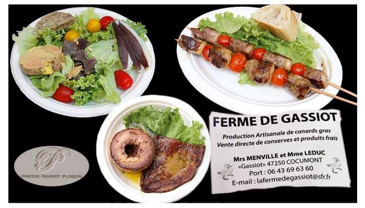 Le magret de canard de la Ferme de Gassiot et les vins des Côtes du Marmandais font un accord résolument Sud-Ouest !
