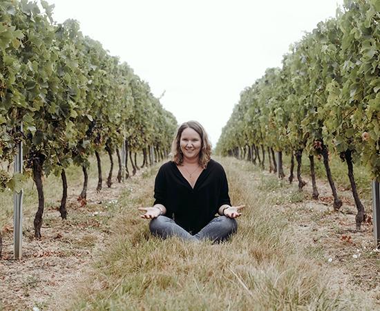 « Ce qui me plait le plus dans le métier de vigneronne, c'est le contact avec la nature » - Aurélie Lefranc