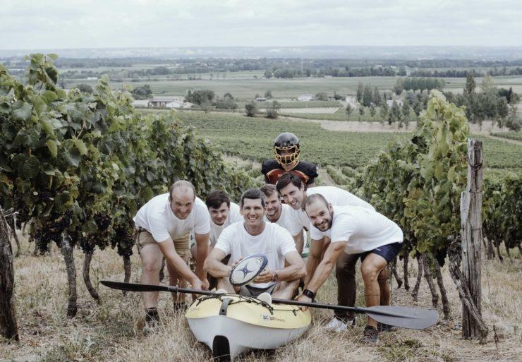 Une cave coopérative vinicole, c'est comme une équipe de rugby : ensemble on va plus loin !